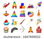 color image group of icons of... | Shutterstock .eps vector #1067830022