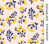 padauk flower  pterocarpus...   Shutterstock .eps vector #1067845202