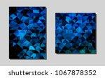 light blue  greenvector banner...