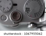 shutter release button and... | Shutterstock . vector #1067955062