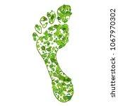 eco friendly concept  green... | Shutterstock . vector #1067970302