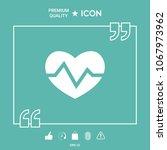 heart medical icon   Shutterstock .eps vector #1067973962
