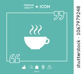 cup with steam | Shutterstock .eps vector #1067979248