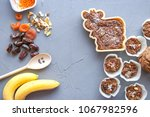 a sugar free homemade cookies... | Shutterstock . vector #1067982596