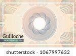 guilloche background design for ... | Shutterstock .eps vector #1067997632