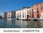 canal grande  grand near ponte... | Shutterstock . vector #1068049796