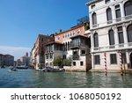 canal grande  grand near ponte... | Shutterstock . vector #1068050192