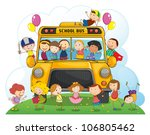 illustration of kids with... | Shutterstock . vector #106805462