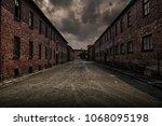 barracks in former nazi... | Shutterstock . vector #1068095198