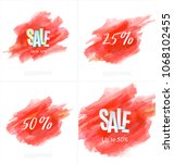 set of sale banner template... | Shutterstock .eps vector #1068102455