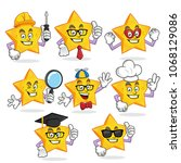 star character vector pack ...   Shutterstock .eps vector #1068129086