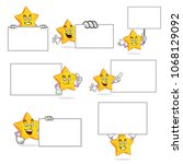 star character vector pack ...   Shutterstock .eps vector #1068129092