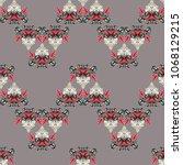 east pattern on seamless for... | Shutterstock .eps vector #1068129215