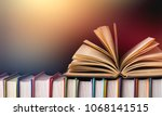 Many Books On The Shelf At...