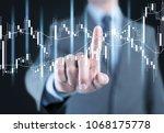 big data analytics and business ... | Shutterstock . vector #1068175778