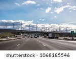 driving on the interstate...   Shutterstock . vector #1068185546