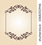 vector retro frames .vector... | Shutterstock .eps vector #1068202946