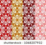 set of seamless texture of... | Shutterstock .eps vector #1068207932