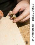 craft jewelery making. ring... | Shutterstock . vector #1068264518