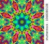 oriental patterns. decoration... | Shutterstock . vector #1068380138