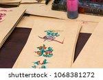 the dubai mall  dubai  uae   02.... | Shutterstock . vector #1068381272