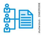 network distribution avatar  | Shutterstock .eps vector #1068390308