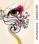 vector  illustration of an... | Shutterstock .eps vector #106841282