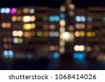 beautiful abstract blurred... | Shutterstock . vector #1068414026