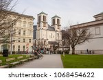 salzburg  austria   april 6 ... | Shutterstock . vector #1068454622