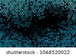 dark blue vector abstract...   Shutterstock .eps vector #1068520022