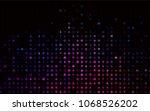 dark pink  blue vector pattern... | Shutterstock .eps vector #1068526202