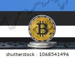 bitcoin  btc  cryptocurrency ... | Shutterstock . vector #1068541496