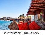 dahab  egypt   september 2 ...   Shutterstock . vector #1068542072