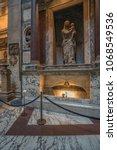 pantheon basilica  rome  italy...   Shutterstock . vector #1068549536