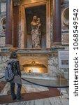 pantheon basilica  rome  italy...   Shutterstock . vector #1068549542