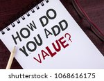 text sign showing how do you... | Shutterstock . vector #1068616175