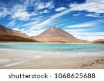 beautiful turquoise waters of...   Shutterstock . vector #1068625688