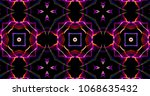Abstract Kaleidoscope Patterns...