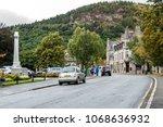 ballater  aberdeenshire  ... | Shutterstock . vector #1068636932