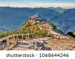 kehlstein eagles nest... | Shutterstock . vector #1068644246