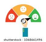 vector illustration icon... | Shutterstock .eps vector #1068661496