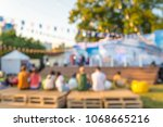 abstract blur people in day... | Shutterstock . vector #1068665216