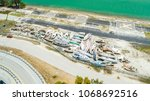 destroyed boats in miami after... | Shutterstock . vector #1068692516