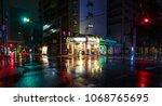 osaka  japan   april 14  2018 ...   Shutterstock . vector #1068765695