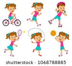 Kids Girl Sports Activities...