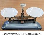 school scales for students... | Shutterstock . vector #1068828026