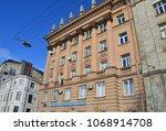 st. petersburg  russia ... | Shutterstock . vector #1068914708