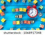 back to school. close up...   Shutterstock . vector #1068917348
