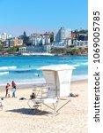In  Australia  The Beach...