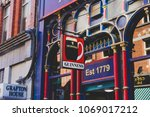 dublin  ireland   april 14th ... | Shutterstock . vector #1069017212